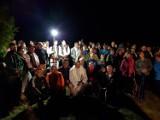 Odkryj Beskid Wyspowy. W nocnym marszu zmierzyli się z Ćwilinem [ZDJĘCIA]