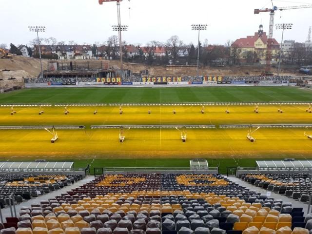 Stadion Pogoni - stan na 14 marca 2021.