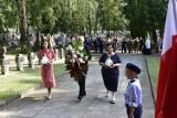 Obchody 77. rocznicy Powstania Warszawskiego w Rawie Mazowieckiej ZDJĘCIA