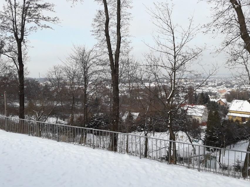 Bochnia pod śniegiem