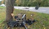 Reblino - Sycewice: Z auta wrak - groźny wypadek [ZDJĘCIA] - 13.10.2019 r.