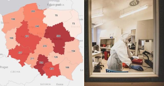 Najwięcej chorych na COVID-19 przybyło znów w woj. śląskim. Dokładnie w Częstochowie, Katowicach i Rybniku. W całej Polsce zmarły kolejne 144 osoby, w tym 109 miało choroby współistniejące.   Sprawdź najnowszy raport z miast 2.05.2021  Zobacz kolejne zdjęcia/plansze. Przesuwaj zdjęcia w prawo - naciśnij strzałkę lub przycisk NASTĘPNE