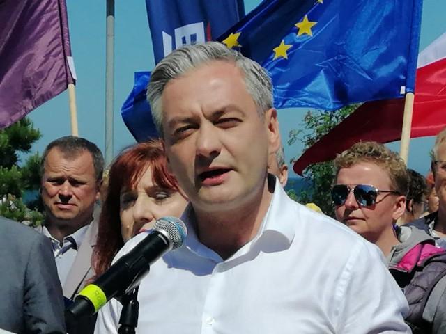 Robert Biedroń w Kołobrzegu