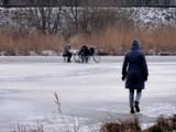 Nie wchodźcie na lód! - Apel krotoszyńskich strażaków [ZDJĘCIA]