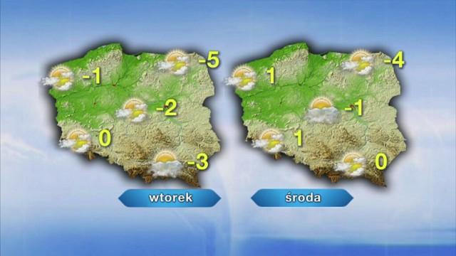 Dziś w Szczecinie temperatura wyniesie jeden poniżej zera. ...