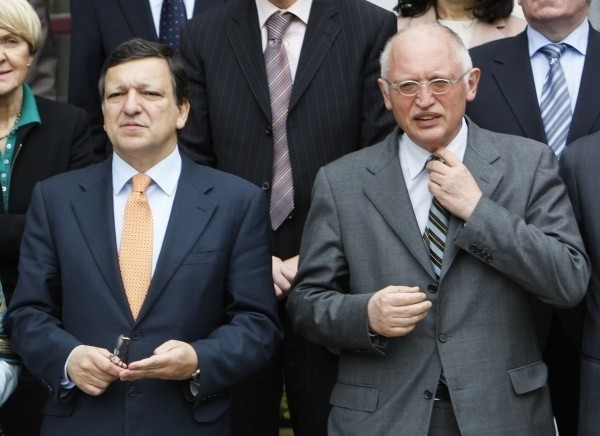Günter Verheugen, wiceprzewodniczący Komisji Europejskiej