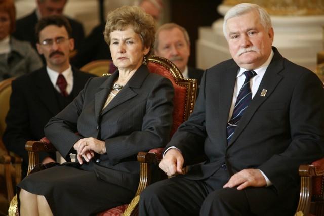Danuta i Lecha Wałęsowie