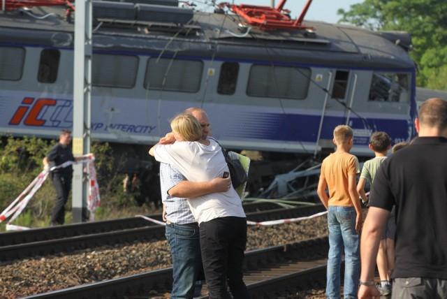 Zmarła druga ofiara katastrofy kolejowej (12 sierpnia) w Babach pod Piotrkowem Trybunalskim.
