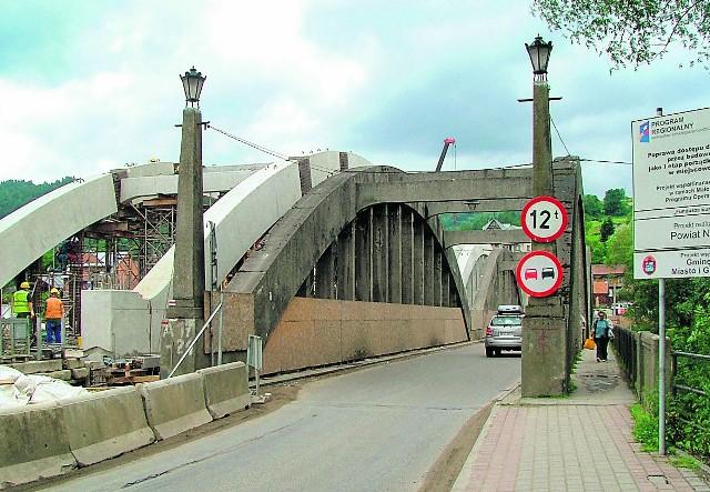 Na listę zabytków wpisany został m.in. żelbetowy most