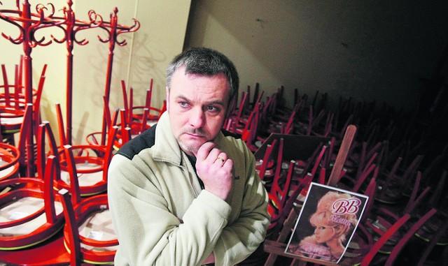 Kwiatkowski, jeden z najemców, zamknął działalność.