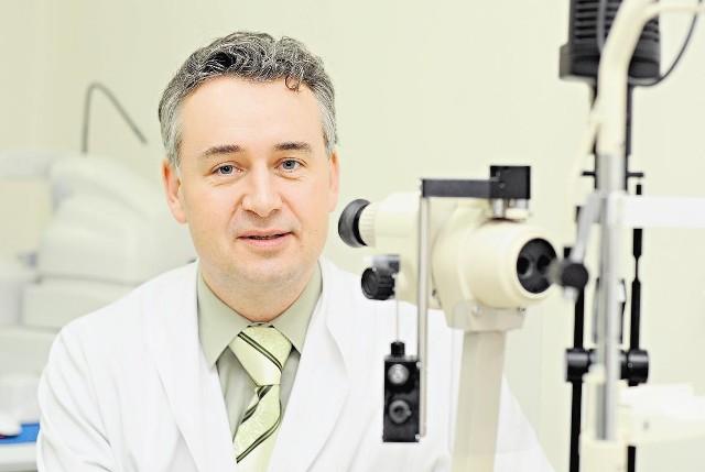 Prof. Andrzej Grzybowski przekonuje, że pacjenci z urazami oka powinni trafiać w jedno miejsce