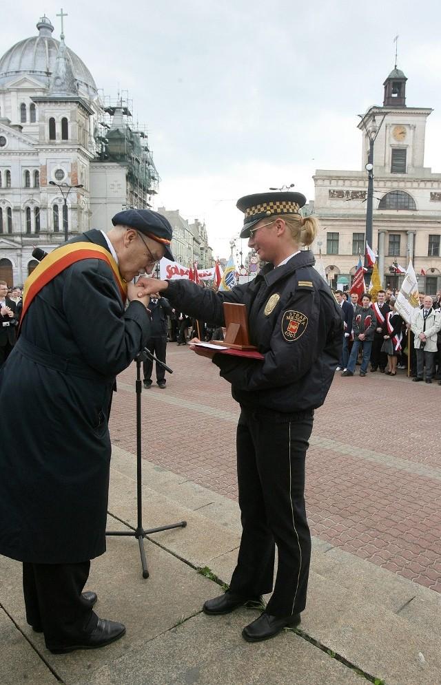 Prezydent Łodzi Jerzy Kropiwnicki. 17 stycznia 2010 roku odwołany w referendum.