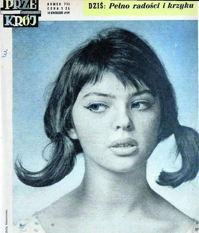 Rok 1959. Basia Kwiatkowska  w obiektywie  Zofii Nasierowskiej