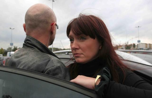 Policję o tragedii jaka rozegrała się w szpitalu zawiadomili Barbara i Piotr  Łuczakowie