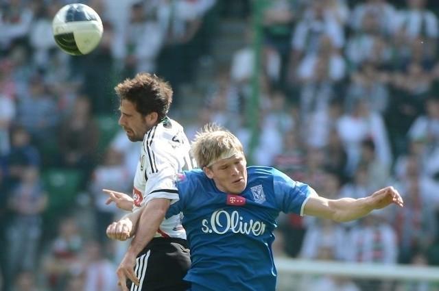 Lech Poznań wygrał z legią Warszawa 1:0
