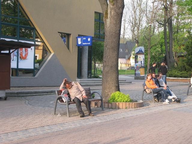 Gdy jest ładna pogoda, podobne obrazki są na zakopiańskich ulicach bardzo częste