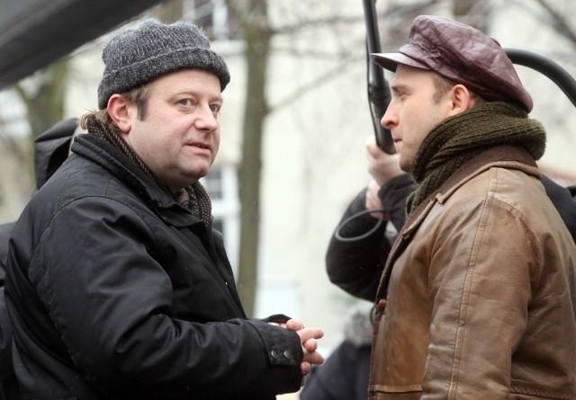 Olaf Lubaszenko i Borys Szyc