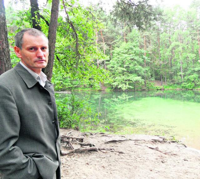Chcemy ochronić kompleks leśny - mówi Adam Bisztyga