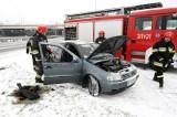 Łódź: palił się samochód na Retkini [ZDJĘCIA]