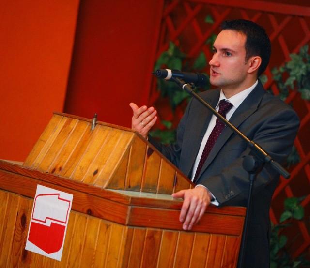 Tomasz Lewandowski (SLD) zapowiedział tworzenie koalicji na rzecz odwołania prezydenta Ryszarda Grobelnego