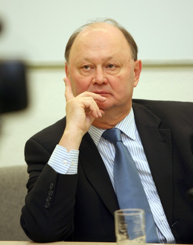 Rektor UŁ Włodzimierz Nykiel