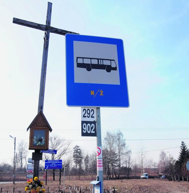Na przystanku w Olszanicy brakuje informacji