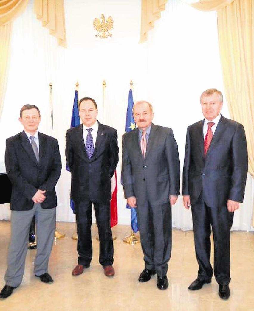 Wicemarszałek Wojtasiak gościł m. in.  w Kazachstanie