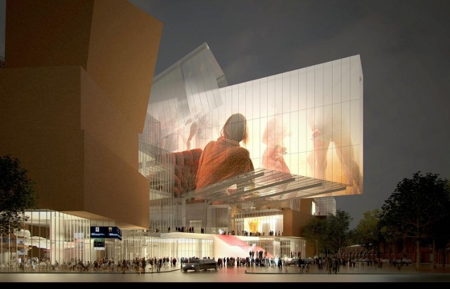 Centrum Festiwalowo-Kongresowe zaprojektować miał Frank Gehry