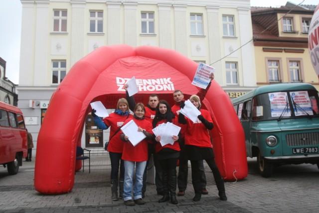 Nasza ekipa dziennikarzy bardzo dziękuje za wsparcie naszej akcji!