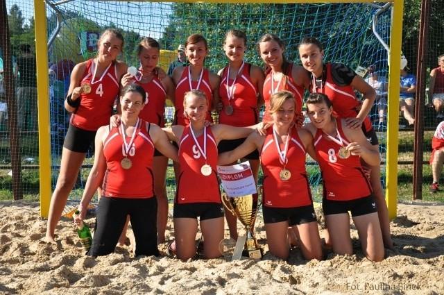 Pyrki AZS AWF Poznań ze srebrnymi medalami mistrzostw Polski
