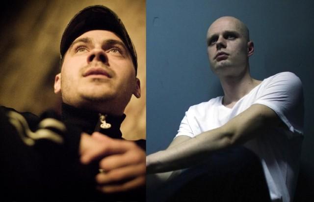Dwie twarze poznańskiego rapu: Hans (z lewej) i Wojciech Bąkowski (Niwea)
