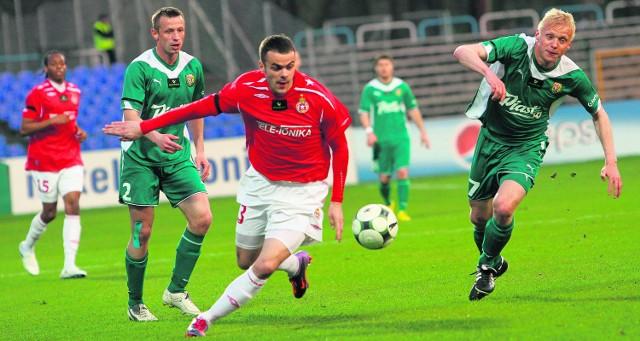 Paweł Brożek w końcu zdobył bramkę w ligowym meczu. Przerwę snajper Wisły miał długą. Gola nie mógł strzelić od 24 października ubiegłego roku