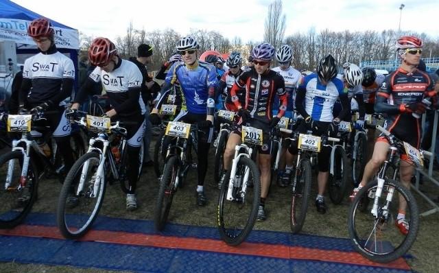 Marek Konwa (nr startowy 2012) jest wielką nadzieją polskiego kolarstwa górskiego.