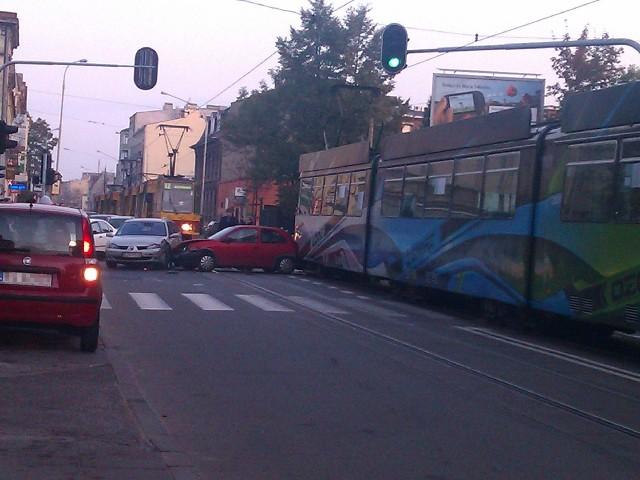 We wtorek od rana skrzyżowanie Struga i Gdańskiej było zablokowane.