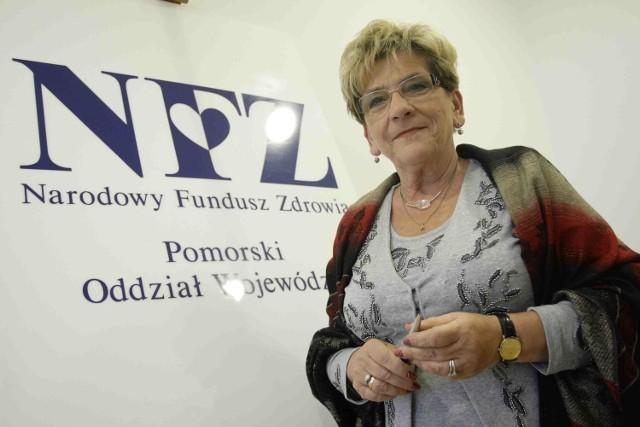 Barbara Kawińska ma być szefową pomorskiego NFZ