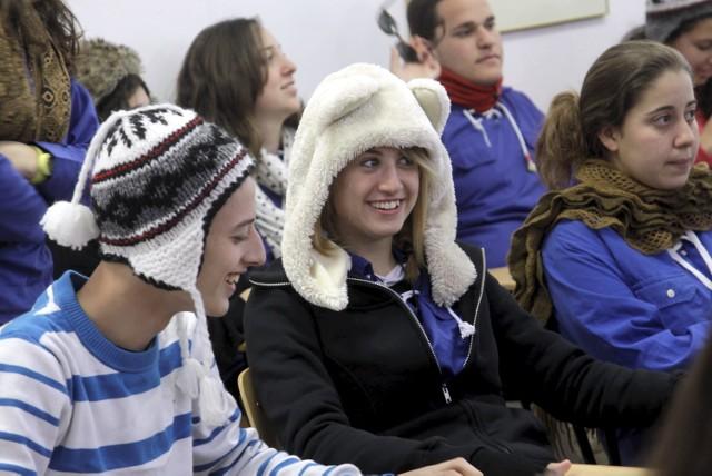 Młodzież z Izraela w Zespole Szkół nr 1 im. Grabskiego