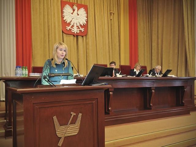 Radna SLD Małgorzata Niewiadomska-Cudak chce zmniejszyć opłaty za przedszkola w Łodzi.