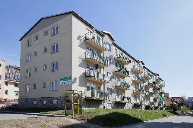 Mieszkania w bloku PTBS przy ul. Drukarskiej w Krakowie