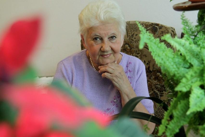 Irena Łokaj jest wolontariuszką hospicjum Dobrego Samarytanina