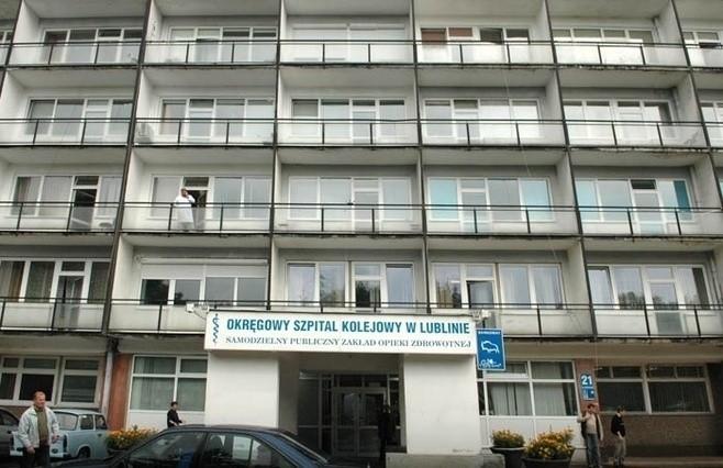 Szpital Kolejowy w Lublinie: Pensje znowu z opóźnieniem