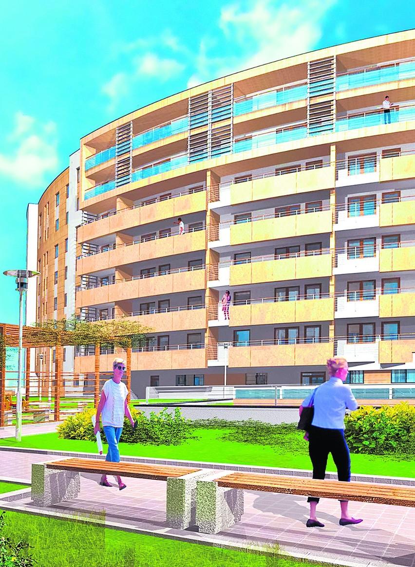 W czerwcu  gotowy będzie drugi etap budowy osiedla