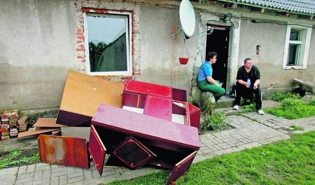 Majowa powódź pozbawiła mieszkańców jednego z osiedli Jelcza-Laskowic dorobku życia
