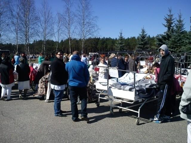 Z powodu alarmu bombowego doszło do ewakuacji 388 pacjentów