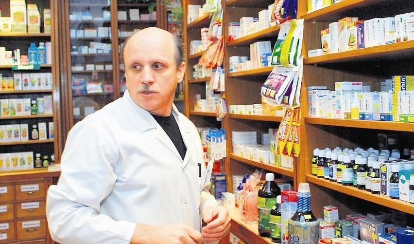 Tadeusz Bąbelek: - Na rynku jest zatrzęsienie aptek, ale żadna z nich nie podoła dyżurom