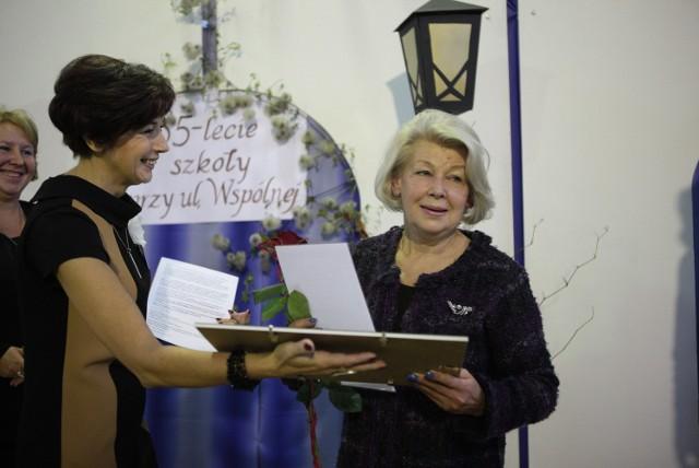 Ewa Braun otrzymała tytuł Honorowego Przyjaciela Szkoły