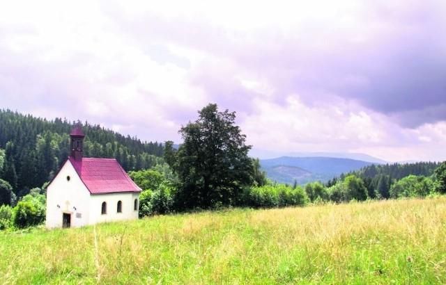 W miejscowości Wrzosówka został jeszcze mały kościół. Tereny są bardzo malownicze, ale czy znajdzie się na nie kupiec?