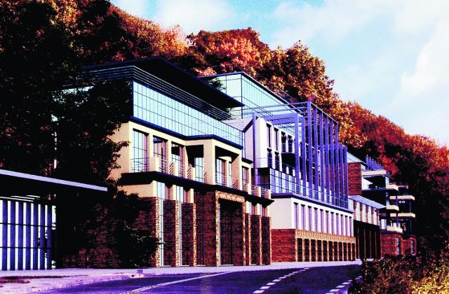 Tak ma wyglądać w przyszłości centrum Żegiestowa-Zdroju według planów firmy Cechini