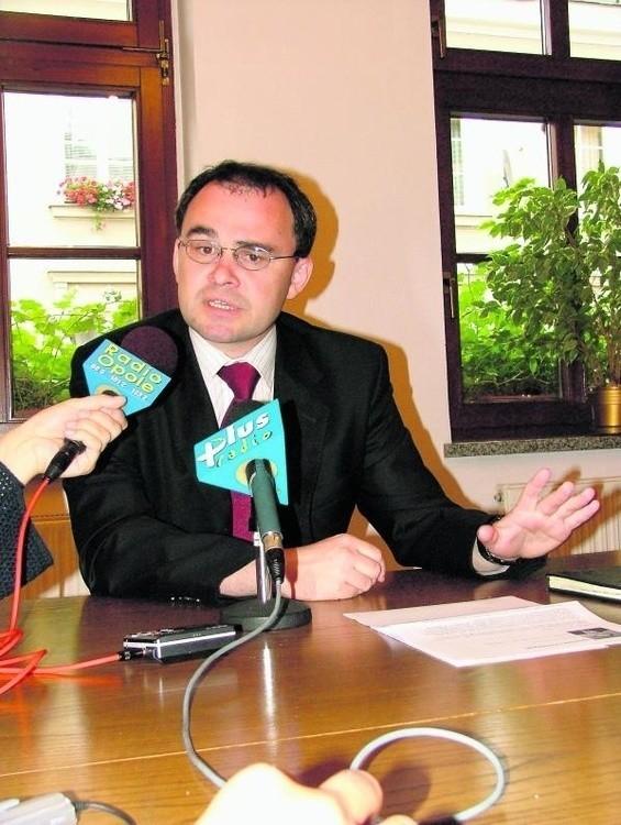 Były opolski senator PiS Jarosław Chmielowski