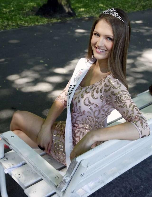Aleksandra Krysińska - Miss Wielkopolski 2012 portalu Naszemiasto.pl.