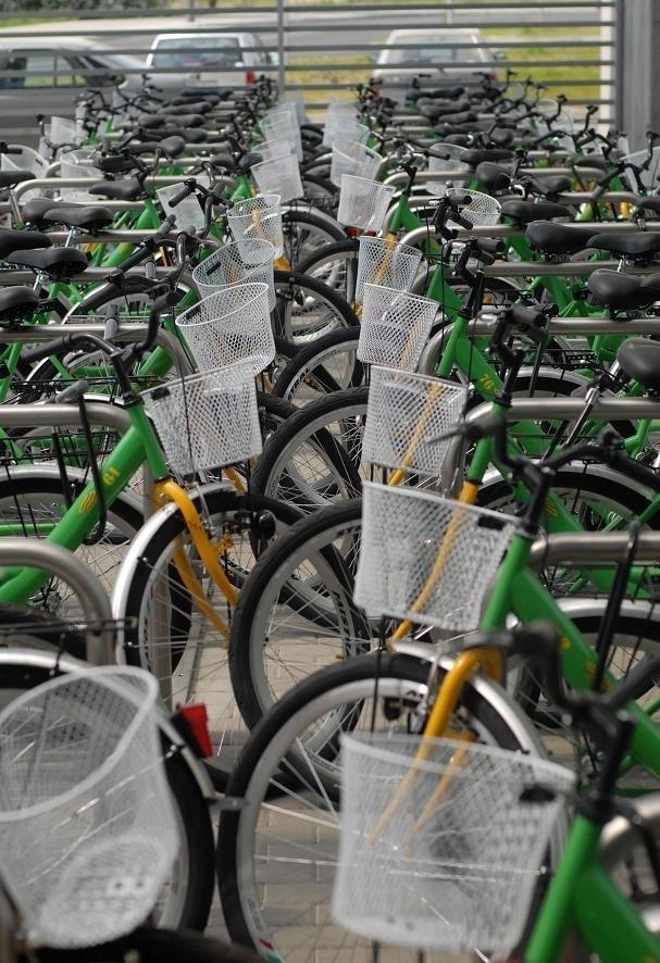 Wypożyczalnia rowerów na os. Sobieskiego
